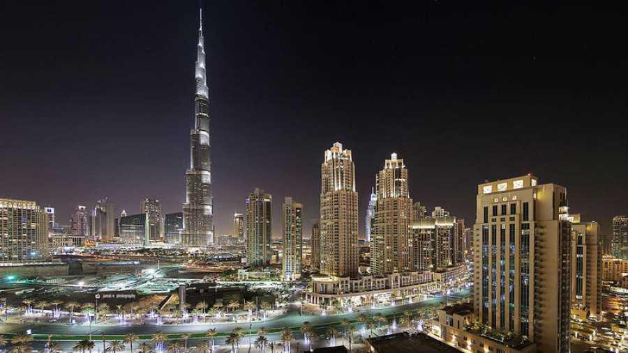 'Skyline' de Dubái