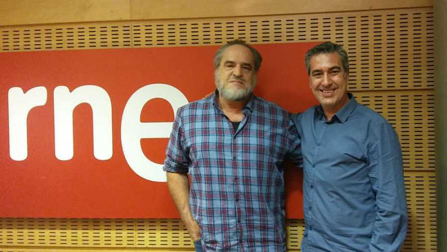 Arturo Martín recibe a Álvaro Van den Brule, fundador de 'Ajedrez sin fronteras'