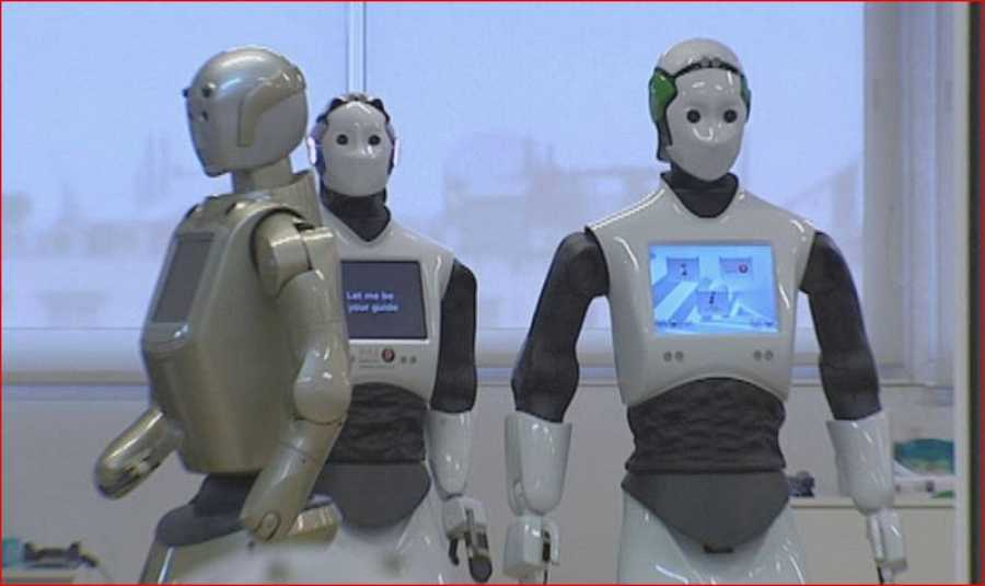 Los robots de PAL ROBOTICS