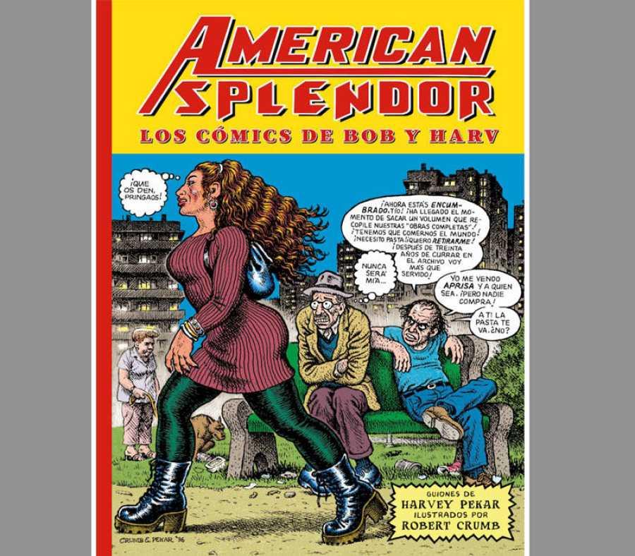 Portada de 'American Splendor: Los cómics de Bob y Harv'