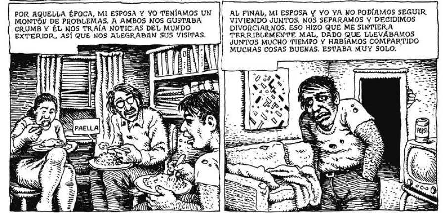 Viñetas de 'American Splendor: Los cómics de Bob y Harv'