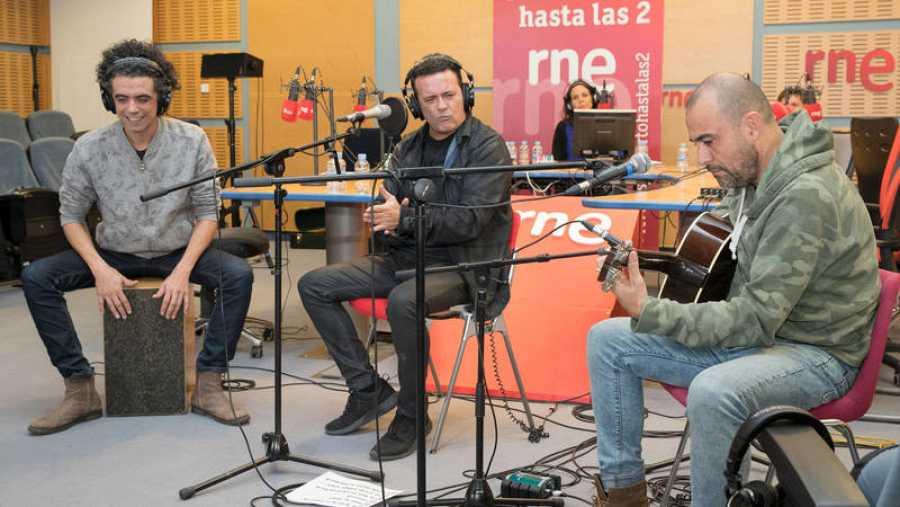 José Manuel Casañ, sobre el escenario de 'Abierto hasta las 2'