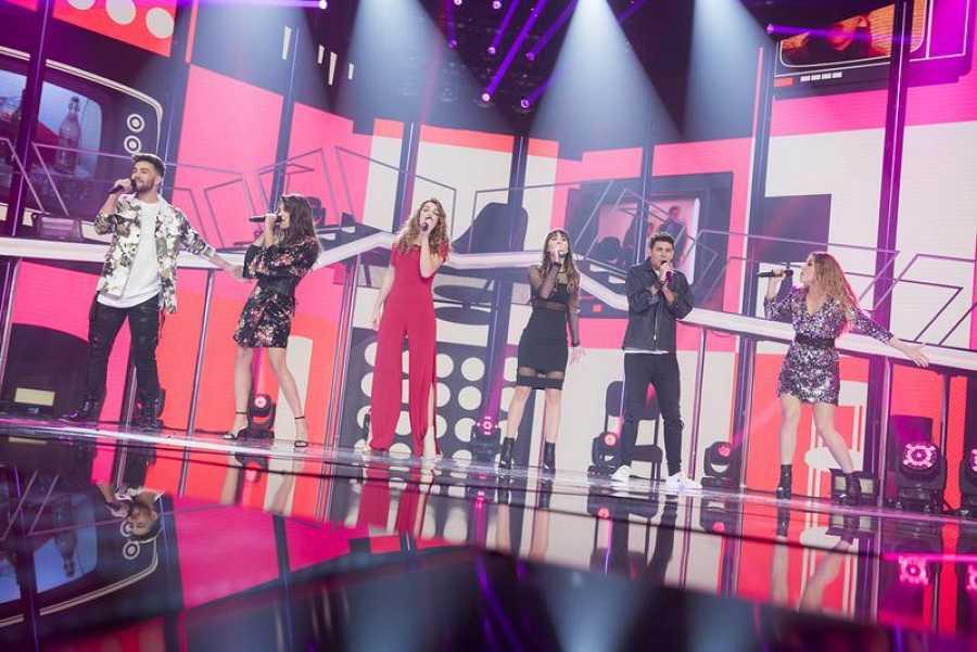 Los candidatos de OT para Eurovisión 2018