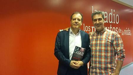 Encuentro de Arturo Martín y Fernando Rueda en la Casa de la Radio (Madrid)