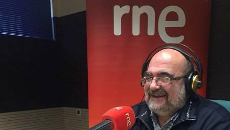 El geólogo Juan Tomás Vázquez (Rne Málaga)