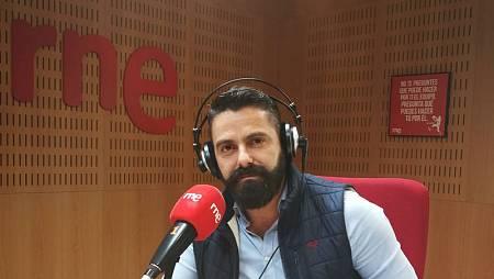 Eugenio Fraile, en nuestra emisora de Rne Tenerife
