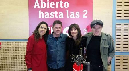 Paloma Arranz, con Lapido y Amaral