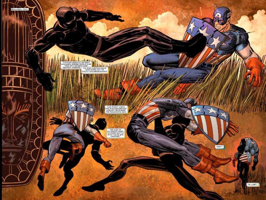 'Pantera Negra' de Reginald Hudlin y John Romita Jr.
