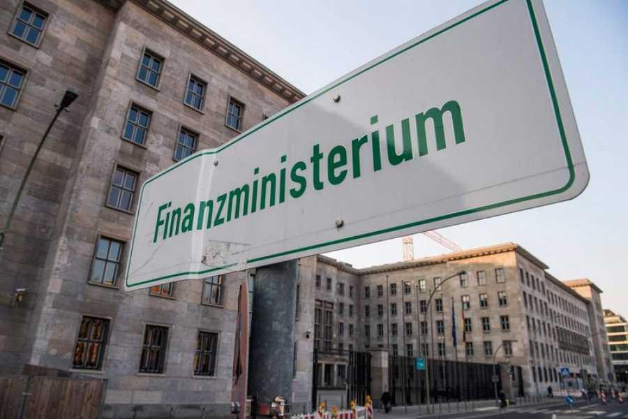 La sede del Ministerio de Finanzas, en Berlín