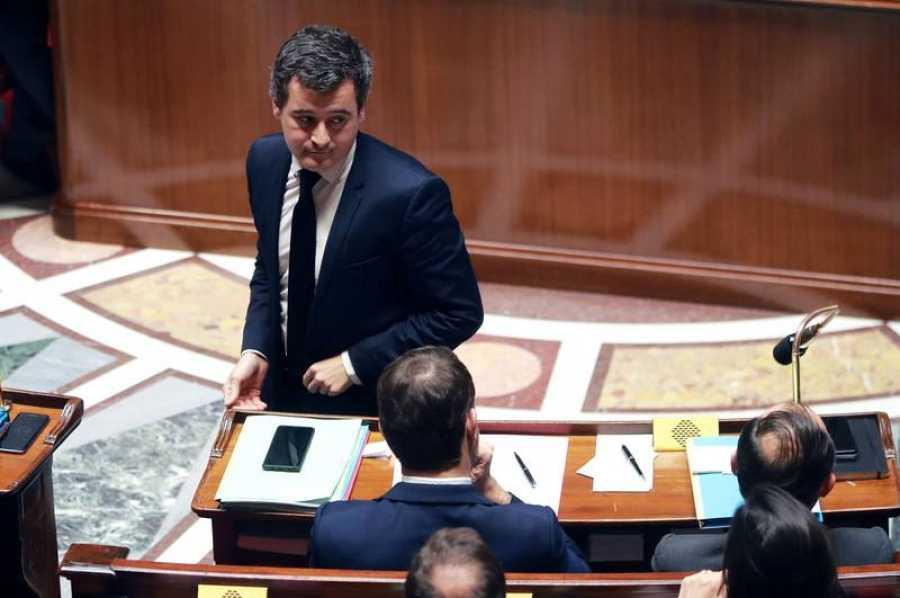 El ministro de Hacienda francés, Gerald Darmanin