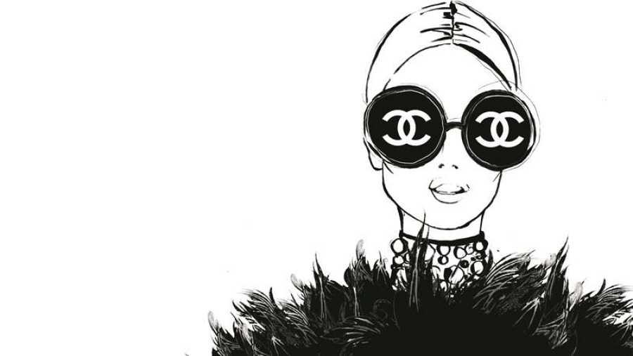 Coco Chanel, la elegancia ilustrada