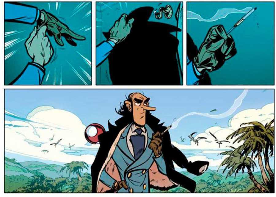 Viñetas de 'Zorglub. La hija de Z'