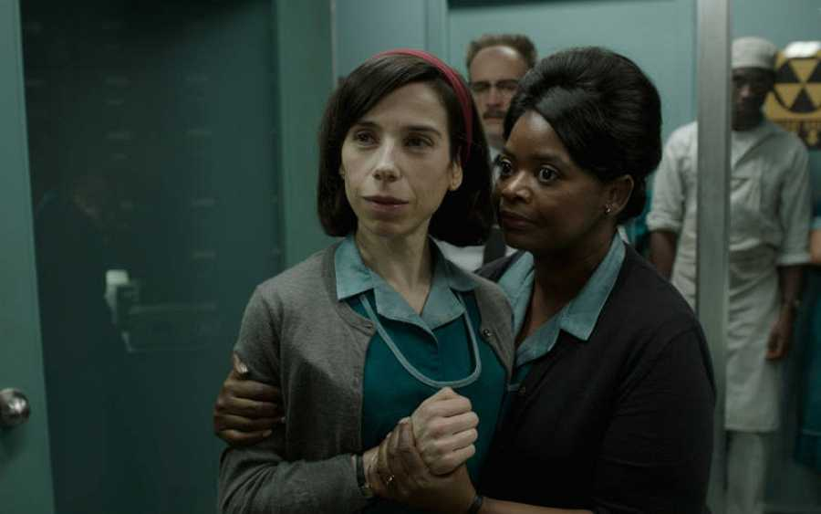 Sally Hawkins y Octavia Spencer