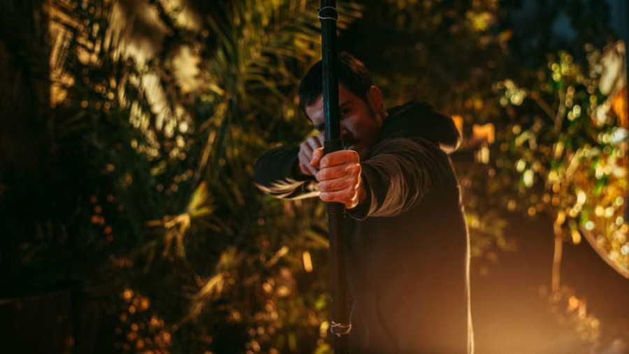 Imagen tomada durante el rodaje de 'Cupido'