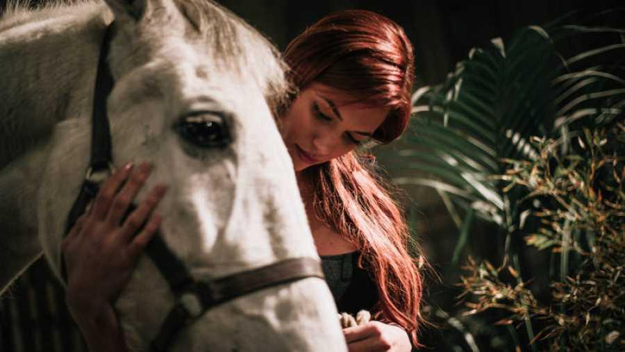 Michelle Calvó interpreta el personaje de Chloe en 'Cupido'