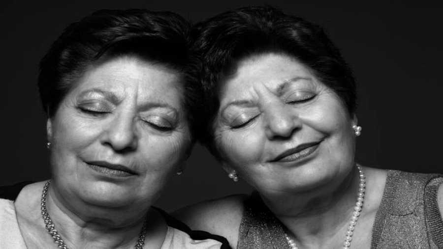 Fotografía de gemelas de Frederic Volkringer