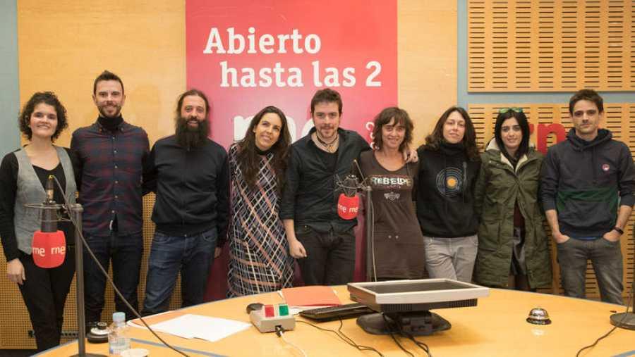 Foto final, con Altube y todo el equipo de 'Abierto hasta las 2'