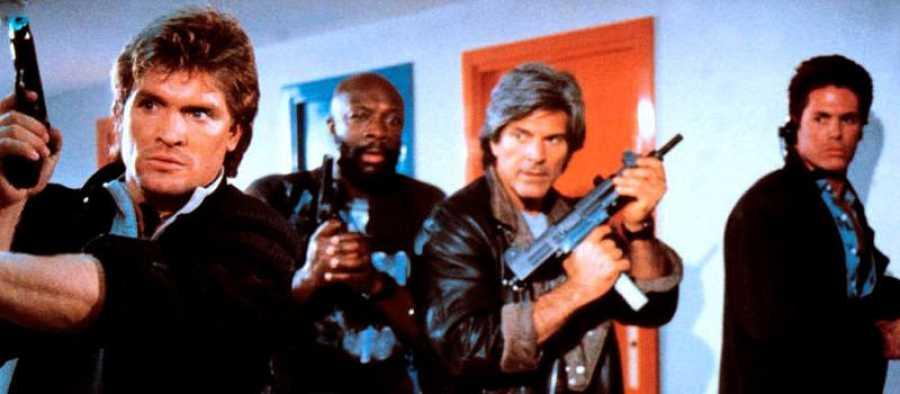 'Escuadrón' tenía un reparto de jovenes estrellas de acción norteamericanas