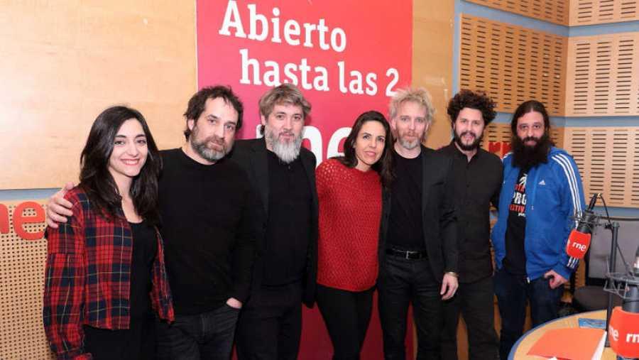 Paloma Arranz, con toda la banda e Impromadrid