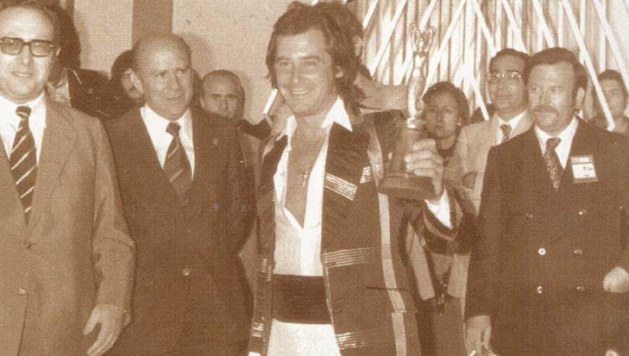 Mochi en el Festival de Bendorm de 1974