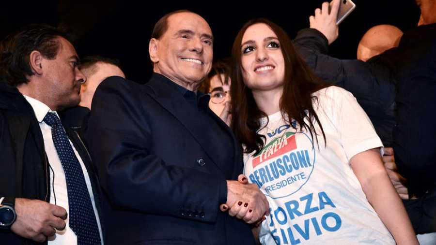 Silvio Berlusconi, líder de Forza Italia