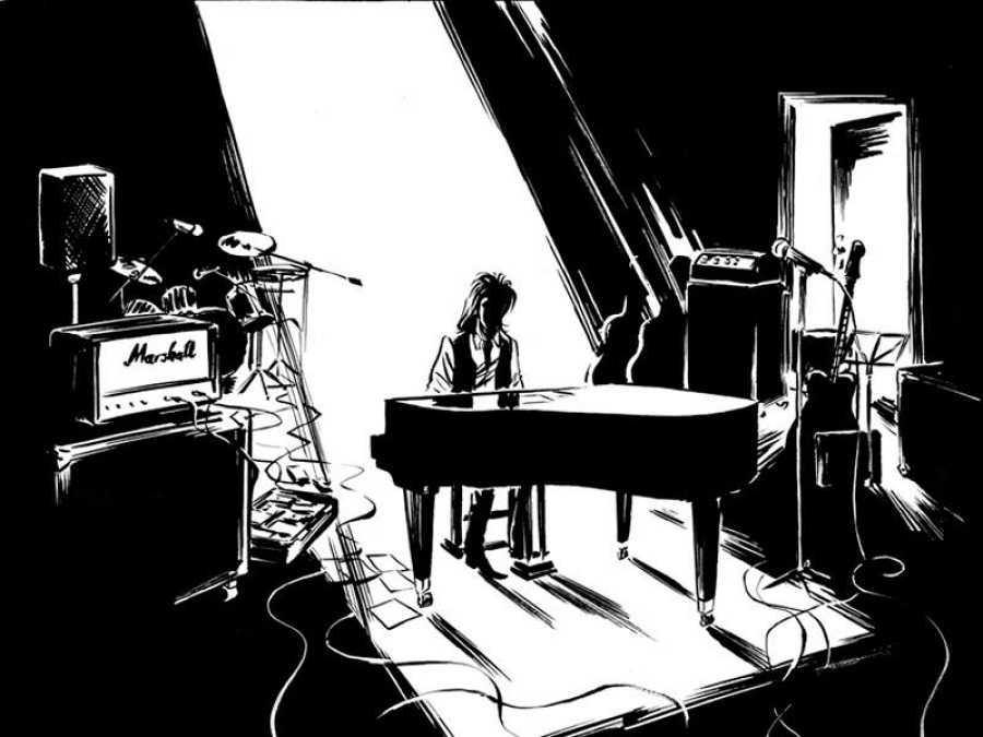 Viñeta de 'Nick Cave: Mercy on me'