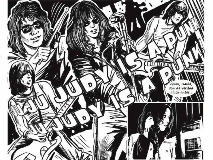 Viñetas de 'Ramones. La novela gráfica'