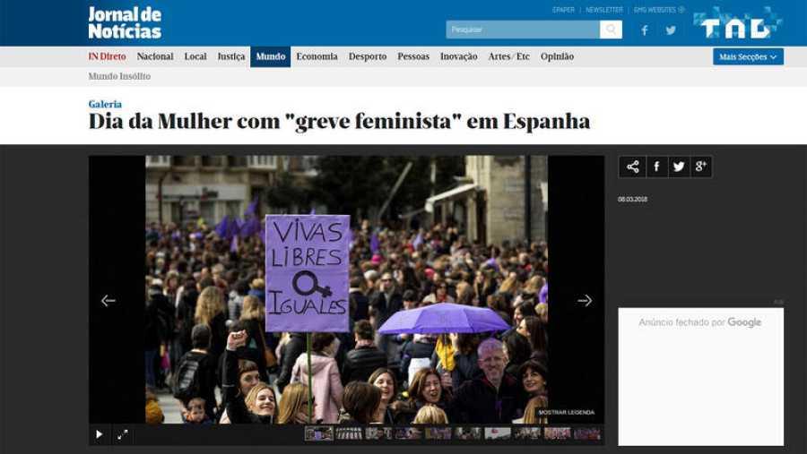 Portada Jornal de Portugal