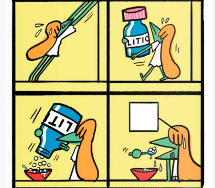 Viñetas de '¡Cuidado que te asesinas!'