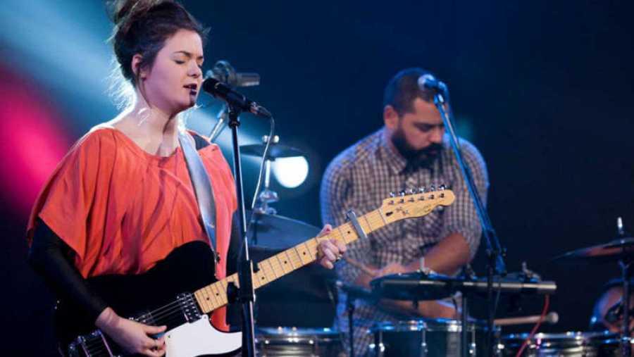 Mabü, en un concierto de Radio 3