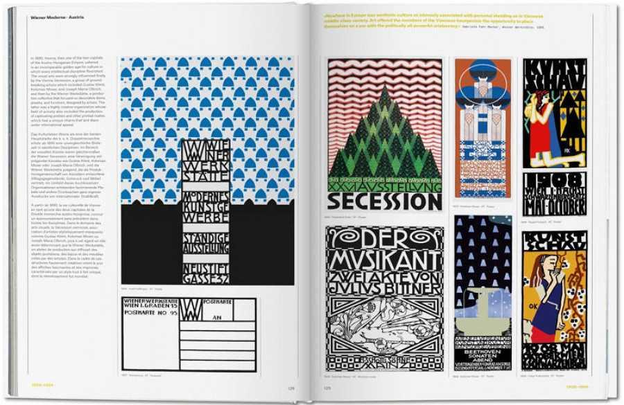 Páginas del libro 'The history of Graphic Desing. Vol. 1 (1890-1959)'