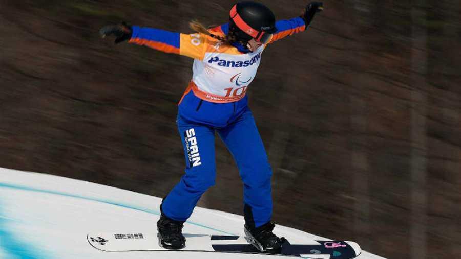 Astrid Fina, medalla de bronce en los últimos Juegos Olímpicos de Invierno.