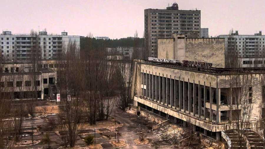 Instalaciones abandonadas de Chernobil