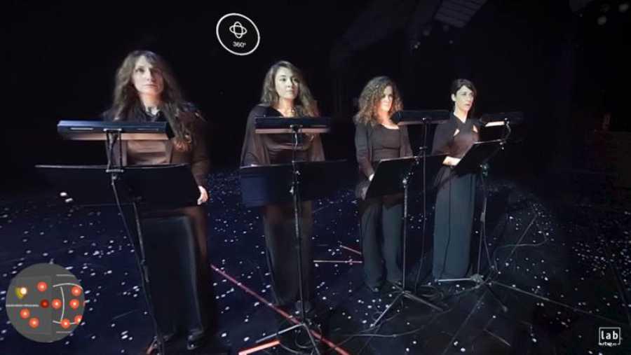 Teatro Real 360: Ensaya el coro del Teatro Real