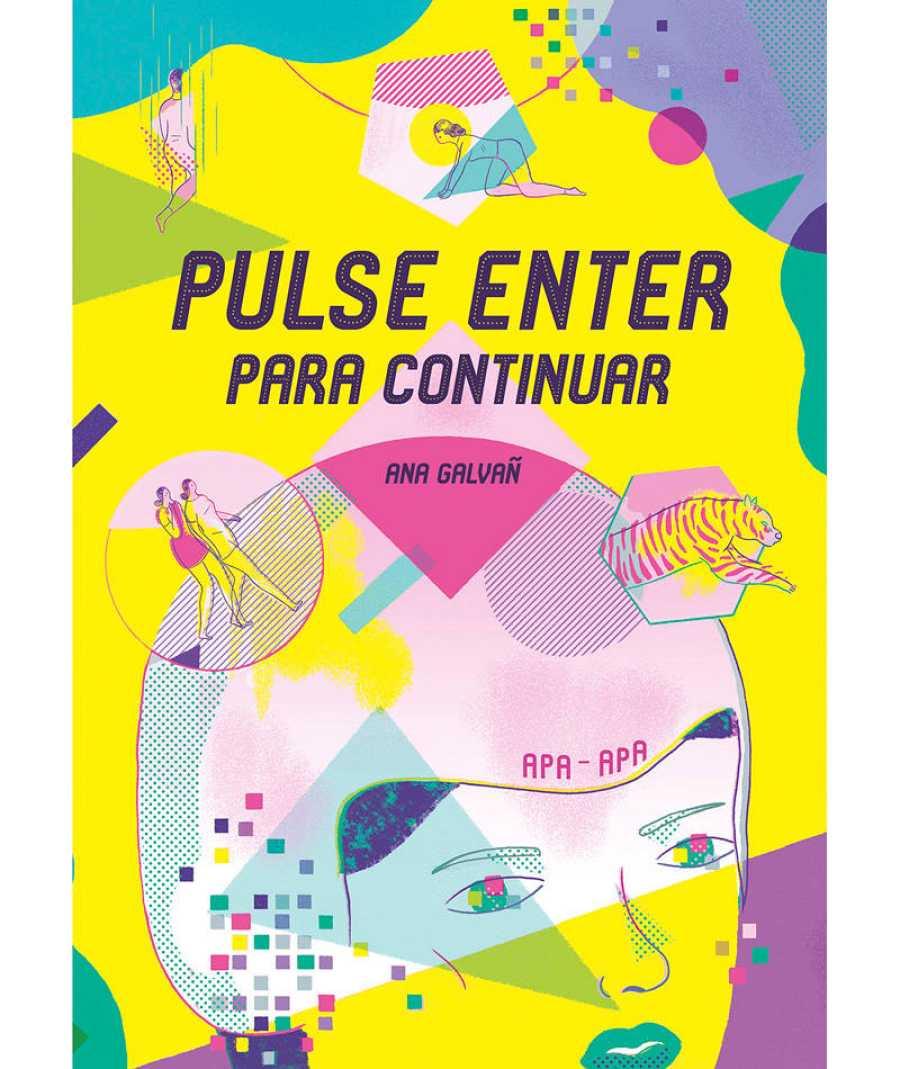 Portada de 'Pulse enter para continuar', de Ana Galvañ