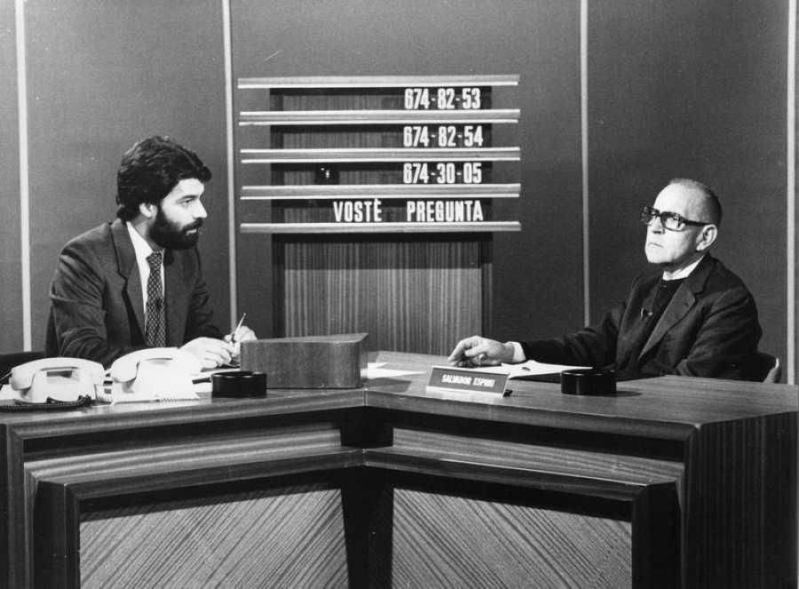 1984 Joaquim Maria Puyal Salvador Espriu Vostè pregunta