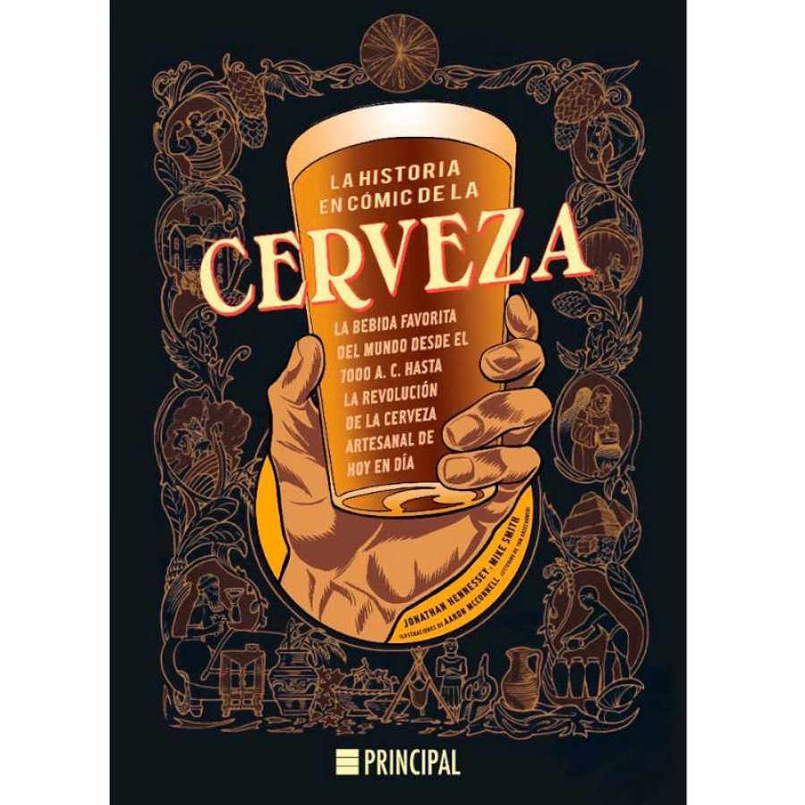 Portada de 'La historia en cómic de la cerveza'