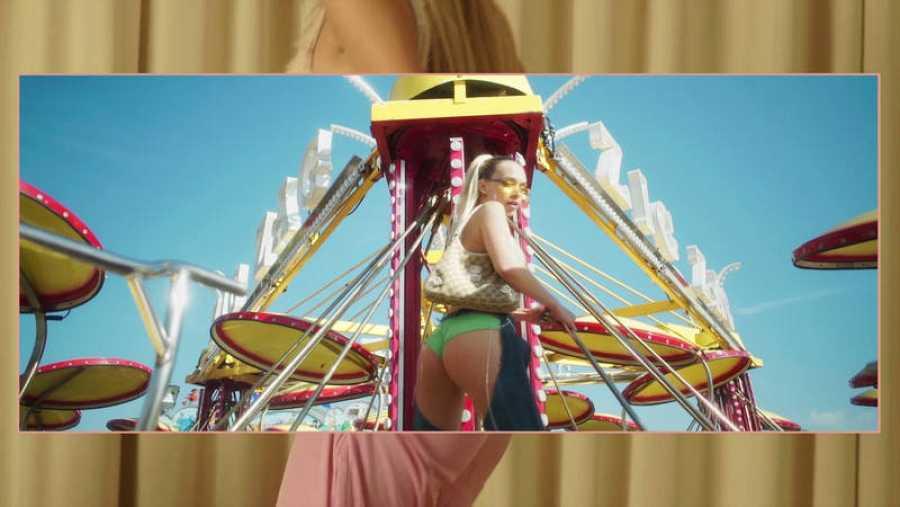 Imagen de Bad Gyal en el videoclip