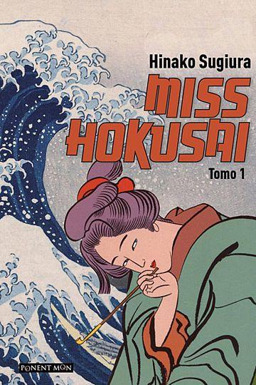 Portada de 'Miss Hokusai'