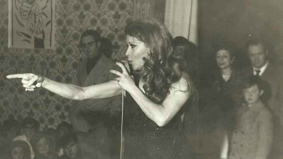 Conchita Bautista, primera representante española de Eurovisión en 1961