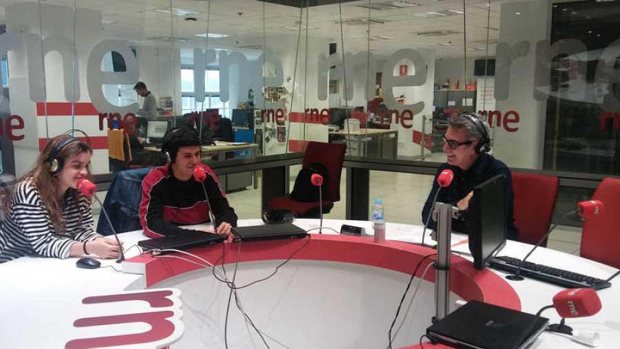 Un momento del programa, en la Casa de la Radio (Madrid)