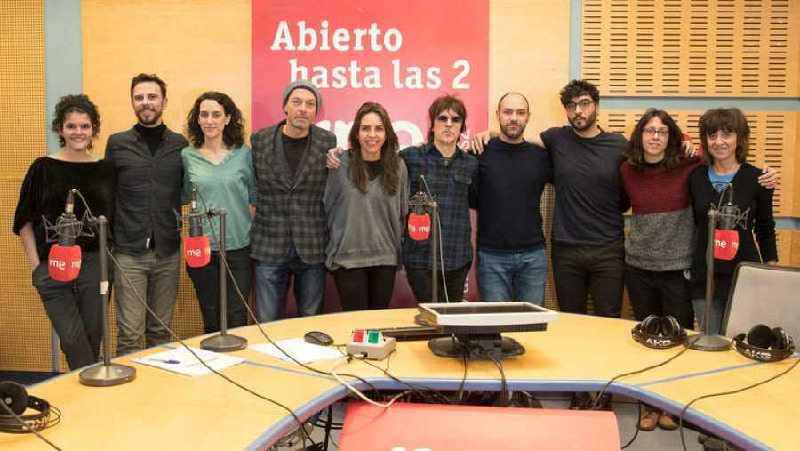 Paloma Arranz, con todo su equipo y su última banda invitada