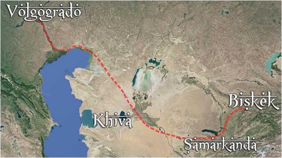 'Diario De Un Nómada' regresa para una 7ª Temporada por Asia Central: La ruta de la seda