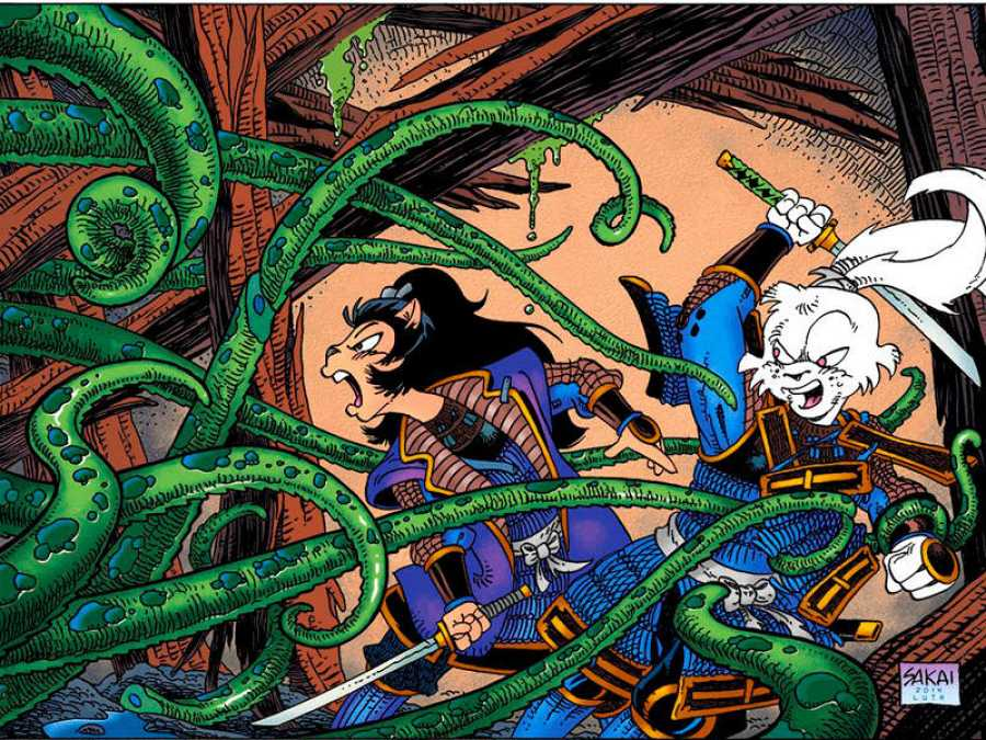Ilustración de 'Usagi Yojimbo'