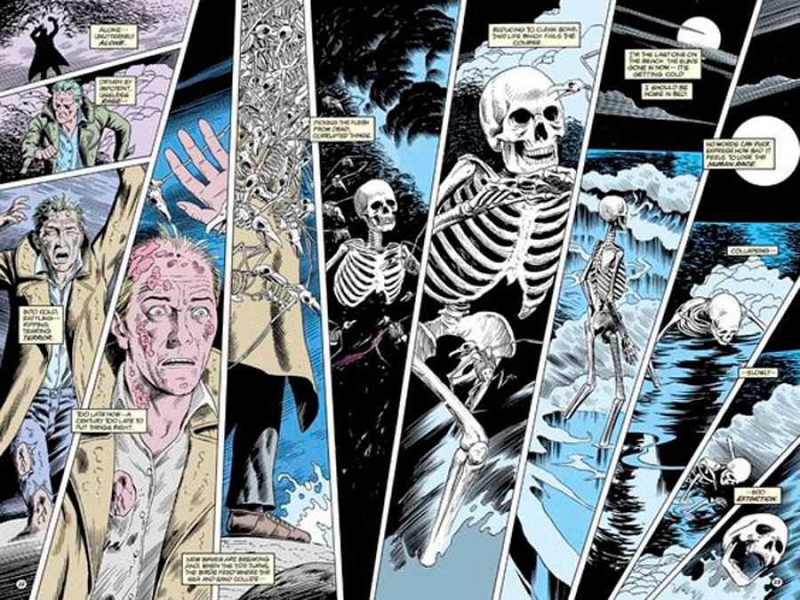 Páginas de 'Hellblazer', de Jamie Delano