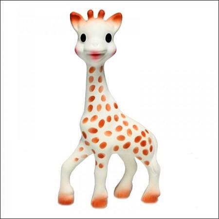 Sophie la jirafa, un juguete éxito de ventas en Francia.