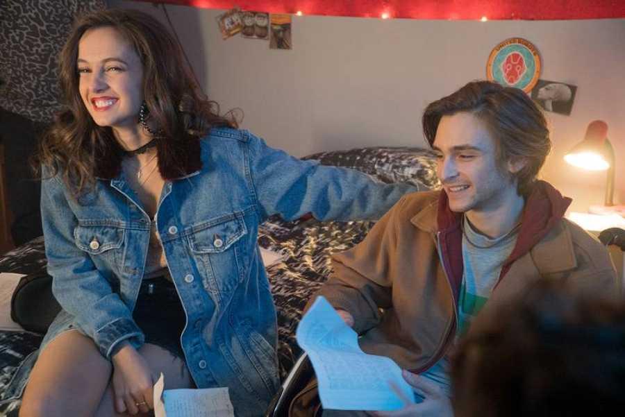 María de Nati y Guillermo Campra, otros dos protagonistas de la serie digital