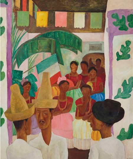'Los rivales' de Diego Rivera
