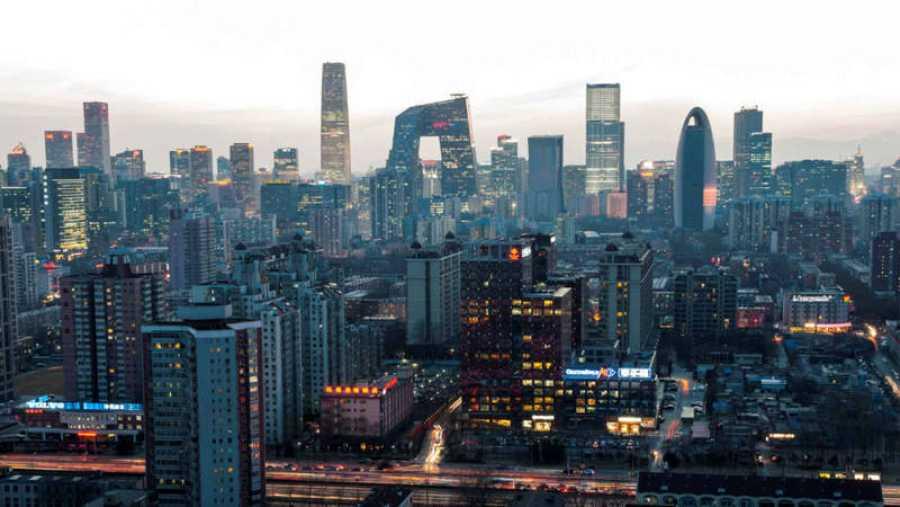 La ciudad china de Beijing es una gran urbe