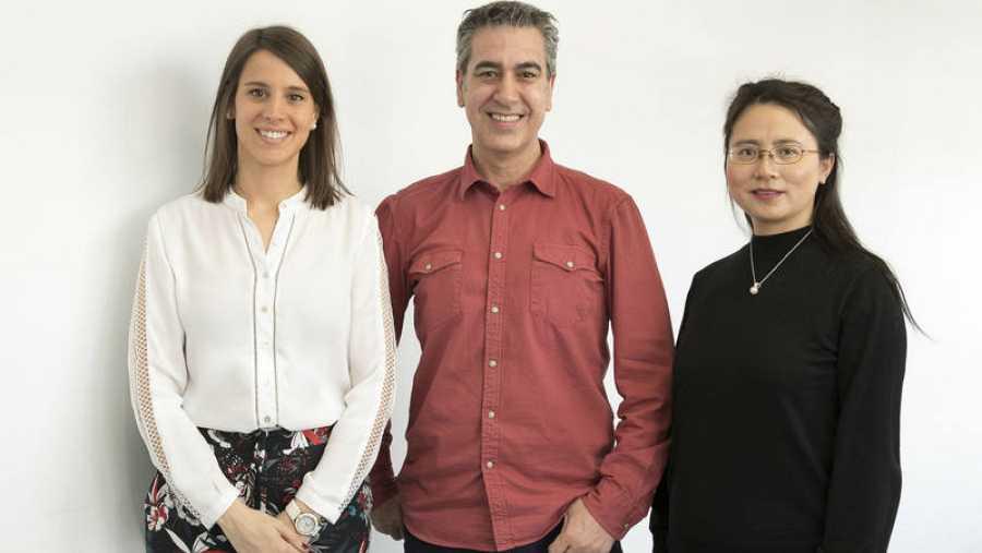 Carla Flores, Arturo Martín y Zhong Xiwei